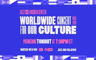 Jazz at Lincoln Center Orchestra virtual gala