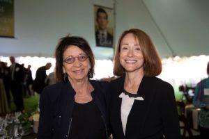 Board Chair Margaret Deutsch and Vice Chair Mandy Victor-Pieczarka. Photo by Christina Lane