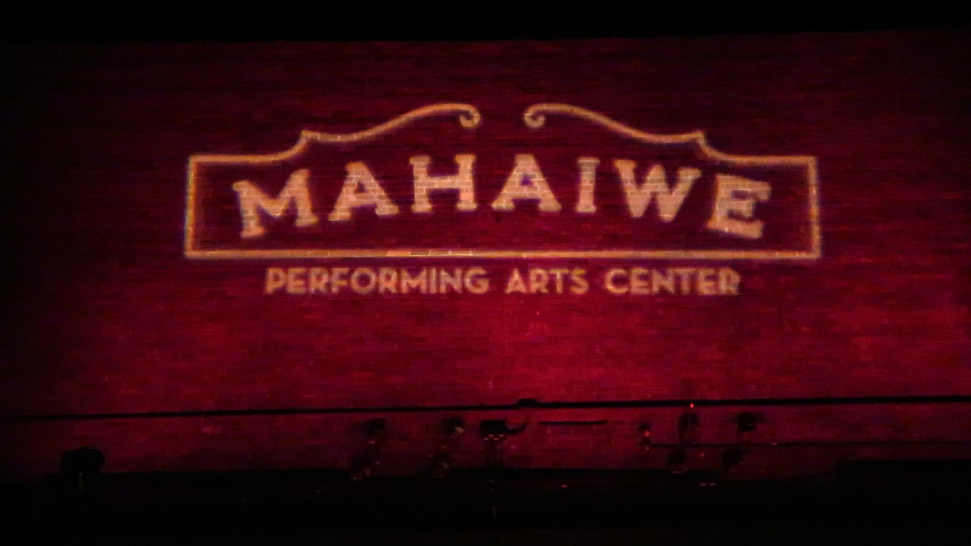 Mahaiwe logo on brick wall