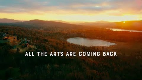 All the arts are coming back